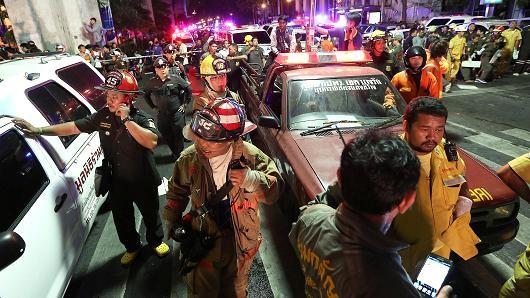 Thị trường Thái Lan hoảng loạn sau vụ nổ bom Bangkok