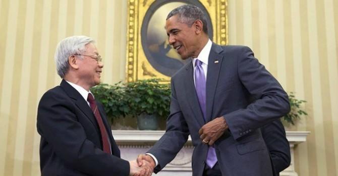 """Báo Nga """"chạnh lòng"""" trước tin Obama thăm Việt Nam"""