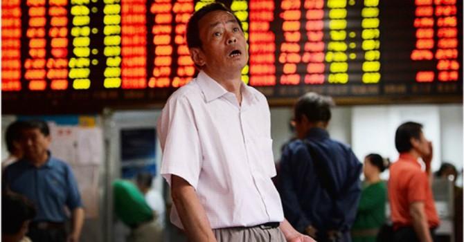 Chứng khoán Trung Quốc rung lắc dữ dội sau khi lãi suất hạ
