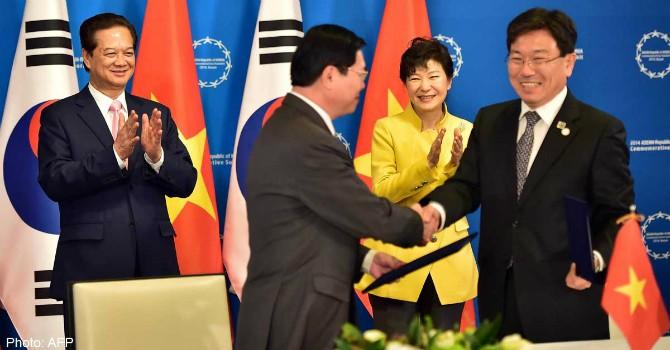 Bộ trưởng Thương mại Hàn Quốc thúc giục quốc hội phê chuẩn FTA với Việt Nam