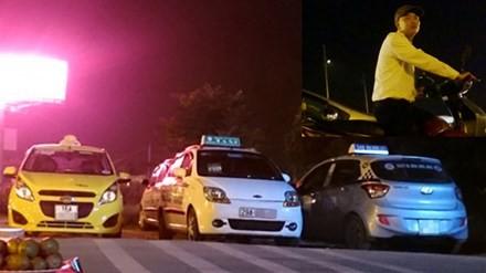 """Rộ nạn """"cò"""" taxi ở sân bay Nội Bài"""