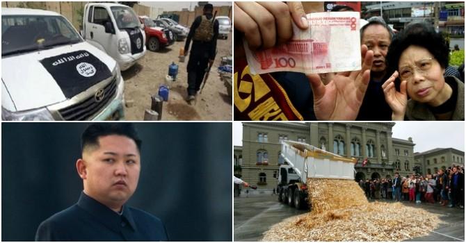 """Thế giới 24h: Toyota bị nghi bán xe cho IS, Triều Tiên """"túng tiền"""""""