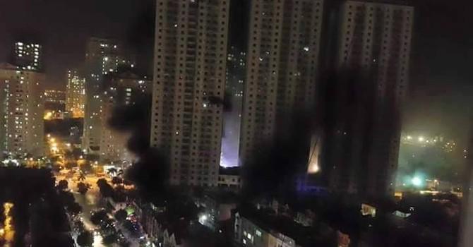 Toàn cảnh vụ cháy tại khu đô thị Xa La khiến 100 người mắc kẹt