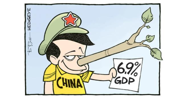 """Biếm họa tuần qua: Trung Quốc """"thổi"""" số liệu GDP, Anh phân trần với Mỹ"""