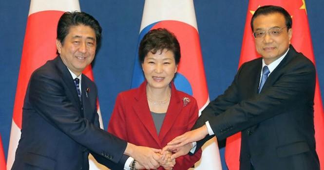 Hàn - Trung - Nhật tổ chức hội nghị thượng đỉnh 3 bên