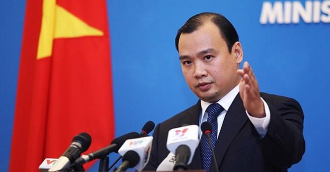Bộ Ngoại giao lên tiếng sau phát biểu về Biển Đông của ông Tập Cận Bình tại Singapore