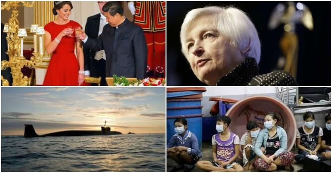 Thế giới 24h: Tàu ngầm thứ 5 của Việt Nam tiến về Cam Ranh, Fed tăng lãi suất