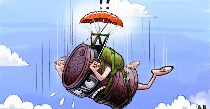 """Biếm họa tuần qua: Fed tăng lãi suất và giá dầu """"rớt dài"""""""