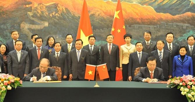 Việt Nam - Trung Quốc đạt được nhiều nhận thức chung quan trọng