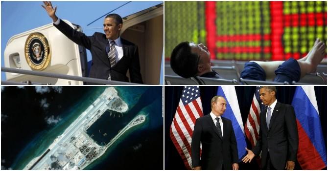 """Thế giới 24h: Chứng khoán Trung Quốc """"sập sàn"""", ông Obama có thể sắp thăm Việt Nam"""