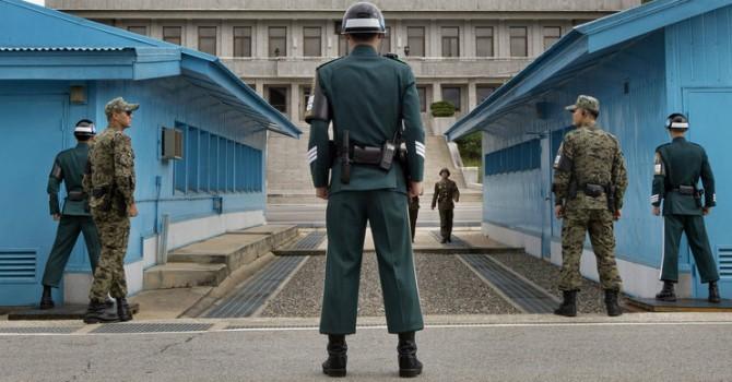 Hàn Quốc nã đạn bắn cảnh cáo gần biên giới Triều Tiên