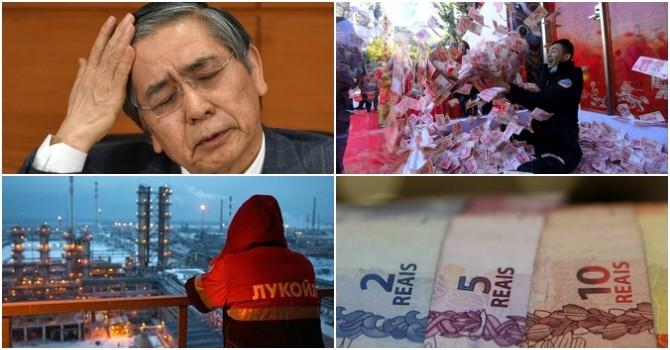 Thế giới 24h: Nhật Bản hạ lãi suất xuống âm, Nga - OPEC khó hợp tác