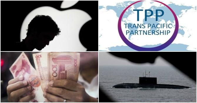 Thế giới 24h: Kilo của Việt Nam cập cảng Cam Ranh, TPP chính thức được ký kết