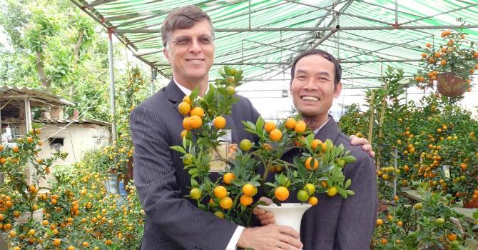 """Đại sứ Úc: """"Tôi ấn tượng nhất với tinh thần gia đình của người Việt trong dịp Tết"""""""