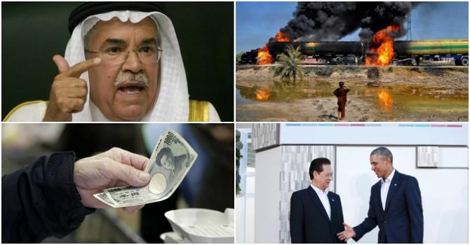 Thế giới 24h: Ông Obama tới Việt Nam vào tháng Năm, 4 nước lớn đồng ý đóng băng sản lượng dầu