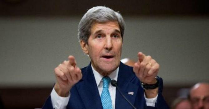 """Ông John Kerry: Mỹ sẽ """"đối thoại nghiêm túc"""" với Trung Quốc về vụ đưa tên lửa ra Hoàng Sa"""