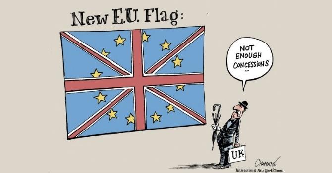 """Biếm họa tuần qua: Sự nhượng bộ của EU và """"Siêu thứ Ba"""" của Mỹ"""