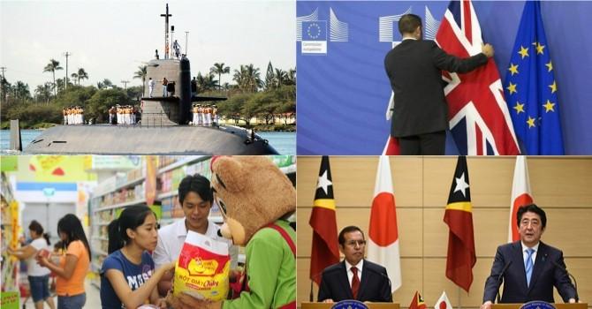 Thế giới 24h: Nhật sẽ kiện Trung Quốc, ông Trump và bà Clinton thắng lớn