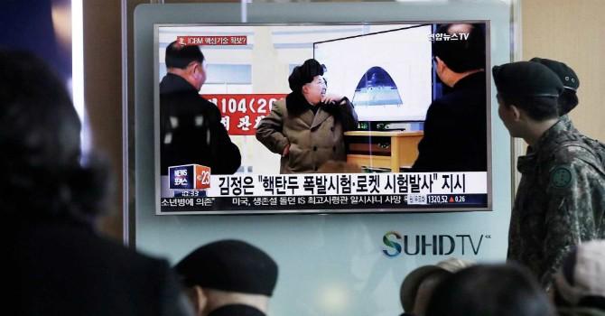 Triều Tiên bắn tên lửa vào vùng biển Nhật Bản