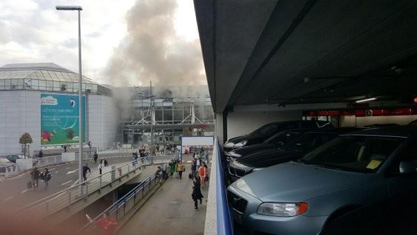 Liên tiếp 2 vụ nổ lớn ở sân bay Bỉ, 17 người thiệt mạng