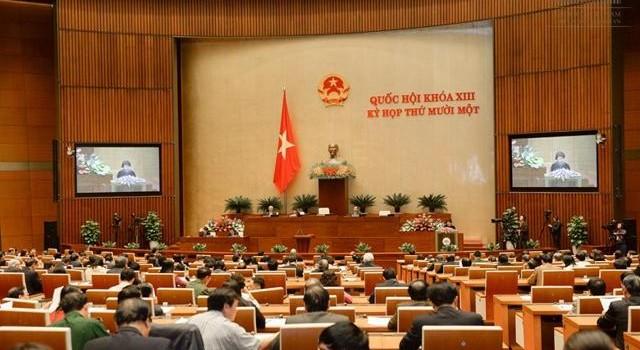 Công bố quy trình bầu Phó Chủ tịch Quốc hội và một số thành viên Ủy ban