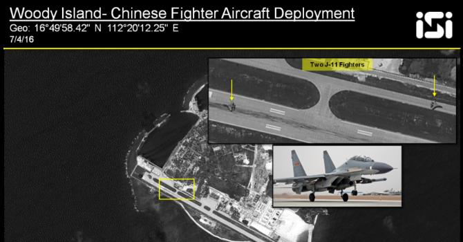 Báo Mỹ: Trung Quốc triển khai trái phép tên lửa, máy bay, radar trên đảo Phú Lâm