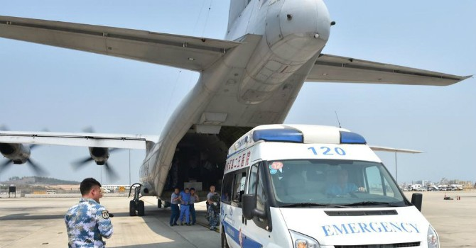 Trung Quốc né tránh câu hỏi của Mỹ về vụ máy bay hạ cánh phi pháp xuống Trường Sa