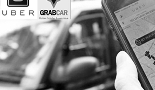 Sẽ luật hóa taxi Grab và Uber?