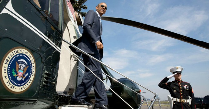 [Video] Siêu trực thăng Marine One tháp tùng ông Obama tại Việt Nam có gì bên trong?