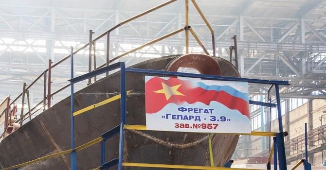 Nga giao 2 chiến hạm lớp Gepard 3.9 cho Việt Nam vào tháng 8-9/2016