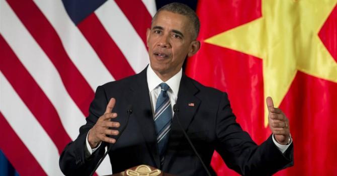 Tổng thống Mỹ dỡ bỏ hoàn toàn lệnh cấm vận vũ khí đối với Việt Nam