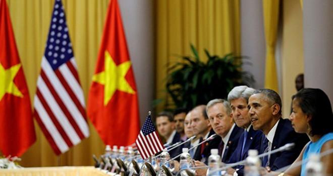 Tuyên bố chung Việt Nam - Hoa Kỳ nhân chuyến thăm của Tổng thống Barack Obama