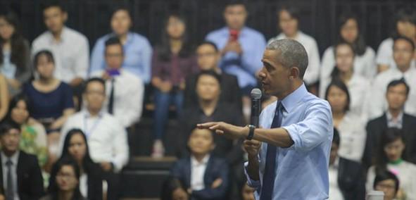 """Ông Obama bày cách tránh """"chảy máu chất xám"""" cho Việt Nam trong TPP"""