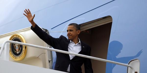 Tổng thống Mỹ Barack Obama rời Việt Nam