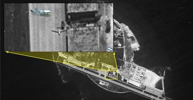 Trung Quốc lần đầu điều máy bay không người lái ra đảo Phú Lâm