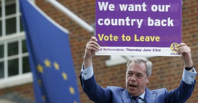 """Người Anh chính thức chọn """"Ra đi"""" sau 43 năm là thành viên Liên minh châu Âu"""