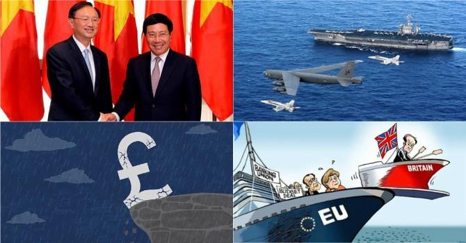 """Thế giới 24h: """"Brexit có lợi cho Việt Nam"""", quan chức Anh đồng loạt từ chức"""