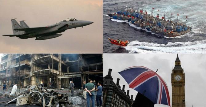 Thế giới 24h: Hàn Quốc lắp đá ngăn Trung Quốc, F-15 của Nhật áp sát máy bay Bắc Kinh