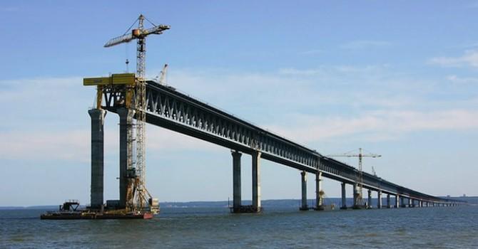 Số phận lận đận của cây cầu 19km nối Nga với Crimea