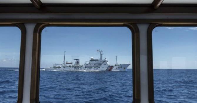 Trung Quốc ngang ngược khoanh vùng cấm trên Biển Đông để tập trận