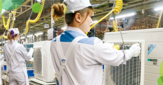 Daikin rót 96 triệu USD xây nhà máy sản xuất điều hòa tại Việt Nam