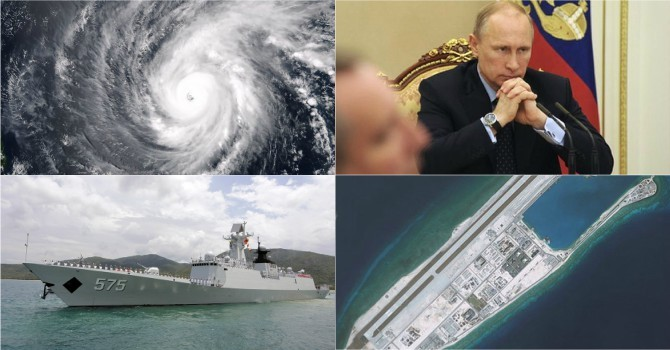 """Thế giới 24h: Trung Quốc rầm rộ tập trận đạn thật, Ông Putin """"bí bài"""""""