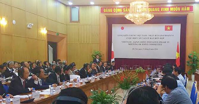 Thống nhất nội dung Sáng kiến chung Việt Nam–Nhật Bản giai đoạn VI