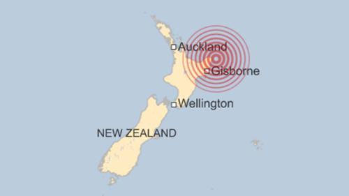 Động đất 7,1 độ Richter gây sóng thần ở New Zealand