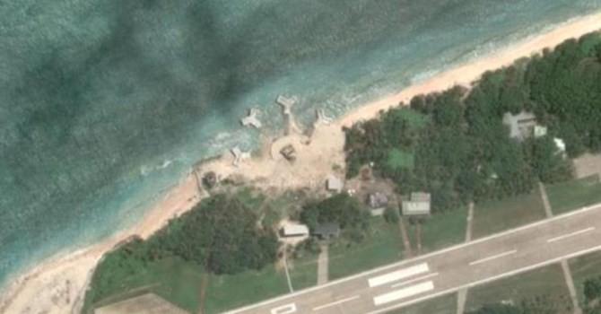 Việt Nam kiên quyết phản đối Đài Loan xây tháp súng phòng không phi pháp trên đảo Ba Bình