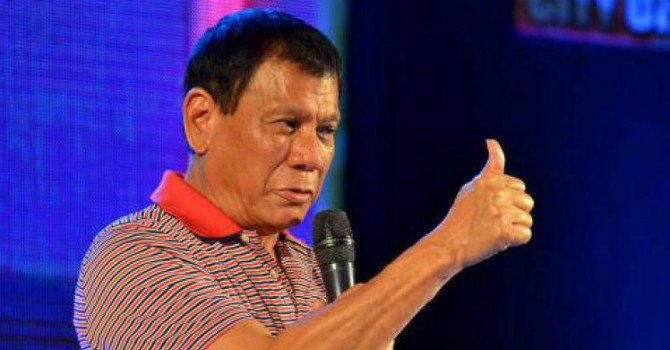 Tổng thống Philippines Duterte thăm Việt Nam bàn về Biển Đông trong tuần tới