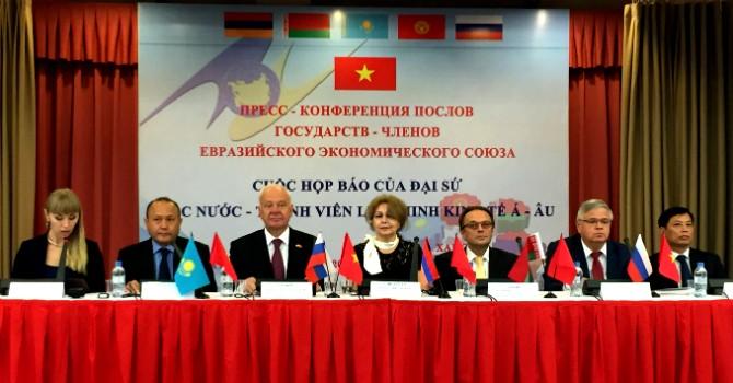 FTA giữa Liên minh kinh tế Á-Âu và Việt Nam chính thức có hiệu lực