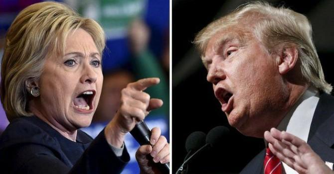 Tỷ lệ ủng hộ ông Trump lần đầu vượt bà Clinton kể từ tháng 5