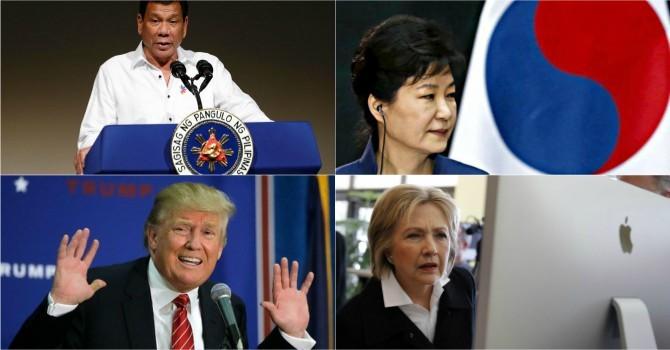 Thế giới 24h: Bà Clinton áp đảo ông Trump, Samsung bị bố ráp vì Tổng thống Hàn Quốc