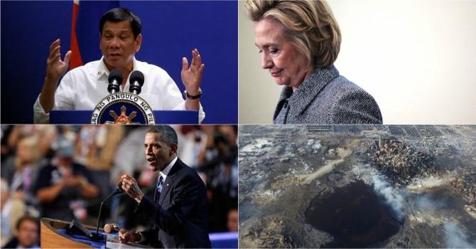 Thế giới 24h: Tổng thống Philippines ngừng cãi vã với Mỹ, Trung Quốc tử hình doanh nhân vì thảm họa Thiên Tân